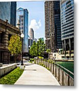 Chicago Riverwalk Picture Metal Print