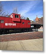 Chicago Rock Island Caboose Metal Print