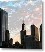 Chicago - South Loop Metal Print