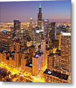 Chicago Southwest 2 Metal Print
