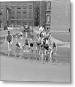 Chicago Summer, 1941 Metal Print