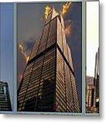 Chicago Tall Shoulders Trump Sears 333 Wacker Triptych 3 Panel 03 Metal Print