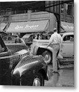 Chicago Traffic, 1941 Metal Print