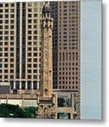 Chicago Water Tower Metal Print