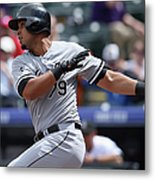 Chicago White Sox V Colorado Rockies Metal Print
