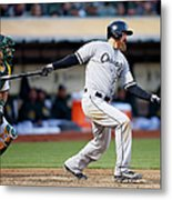Chicago White Sox V Oakland Athletics Metal Print