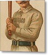 Chicago White Stockings 1887 Metal Print