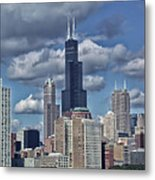 Chicago Willis Sears Tower Metal Print