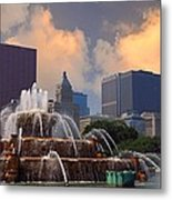 Chicago...my Kind Of Town Metal Print