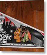 Chicao Blackhawk Metal Print