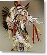 Pow Wow Dreamtime 1 Metal Print