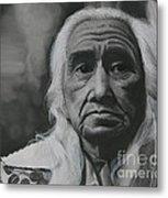 Chief Dan George Metal Print