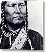 Chief Joseph Nez Perce Leader Metal Print