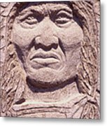 Chief-kicking-bird Metal Print