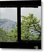 Chief Ouray Mine View Metal Print