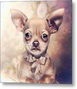 Chihuahua Puppy Metal Print
