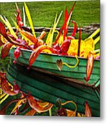 Chihuly Boat Metal Print by Diana Powell