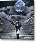 Child Of The Moon Metal Print