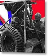 child soldier 100th anniversary parade nogales Arizona 1980-2012 Metal Print
