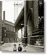 A New York Childhood Metal Print