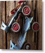 Childhood Skates Metal Print