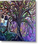 Children Under The Fantasy Tree With Jackie Joyner-kersee Metal Print