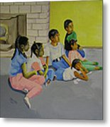 Children's Attention Span  Metal Print