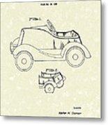 Child's Car  Metal Print