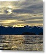 Chilkat Sunset Metal Print