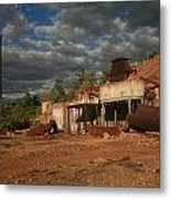 Chillagoe Smelter Metal Print by Gordon  Grimwade