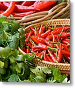 Chillies 04 Metal Print