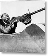 Chilly Army Air Corp Plane Metal Print