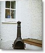 Chiminea Metal Print