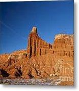 Chimney Rock Capitol Reef National Park Utah Metal Print