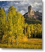 Chimney Rock San Juan Nf Colorado Img 9722 Metal Print