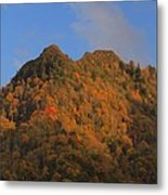Chimney Tops In Smoky Mountains Metal Print