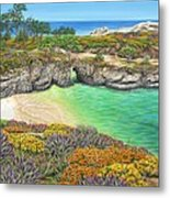 China Cove Paradise Metal Print