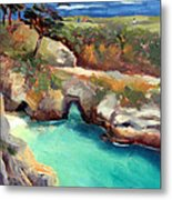 China Cove Point Lobos Metal Print