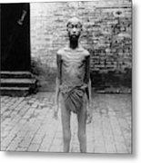 China Famine Victim Metal Print