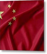 China Flag  Metal Print