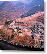China Great Wall Adventure By Jrr Metal Print