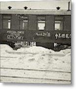China Railroad, 1918 Metal Print