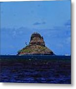 Chinaman's Hat Island-kane'ohe Bay Oahu Hawaii Metal Print