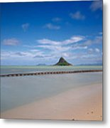 Chinaman's Hat Mokolii In Hawaii Metal Print by Tin Lung Chao