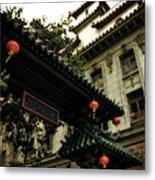 Chinatown Entrance Metal Print
