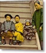 Chinatown Family Metal Print