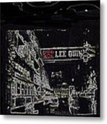 Chinatown Homage Tucson Arizona Circa 1885 1885-2009 Metal Print