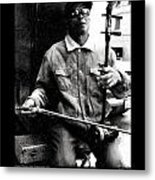 Chinatown Music Metal Print