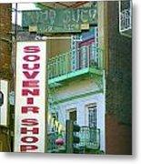 Chinatown Souvenir Shop No. 2 Metal Print