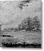 Chincoteague Island Infrared Pano Metal Print